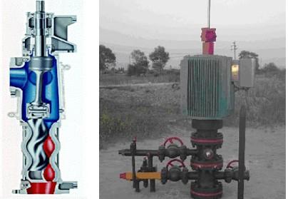 台达变频器C2000变频器正在地面直驱螺杆泵上的行