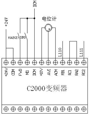 台达变频器c2000变频器在地面直驱螺杆泵上的应用